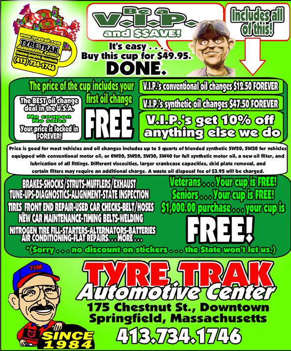 Tyre Trak - VIP Program